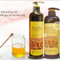 Sữa dưỡng thể tinh chất gạo lứt và mật ong-3